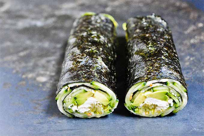 Cucumber Avocado Nori Rolls for a Quick and Healthy Lunch