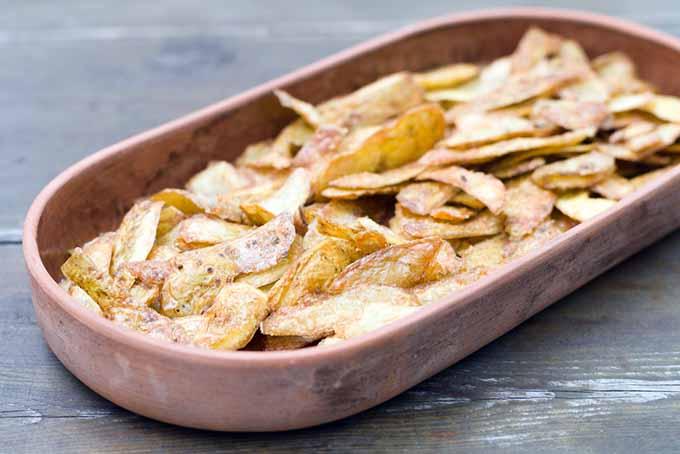 Fried Potato Skins | Foodal.com