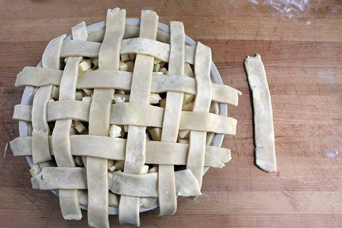 Finishing Lattice Top for Pie | Foodal.com