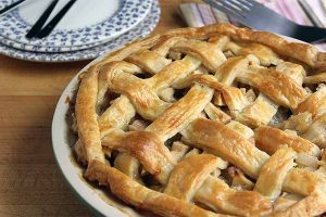 Apple Pear Pie with Cardamom and Ginger