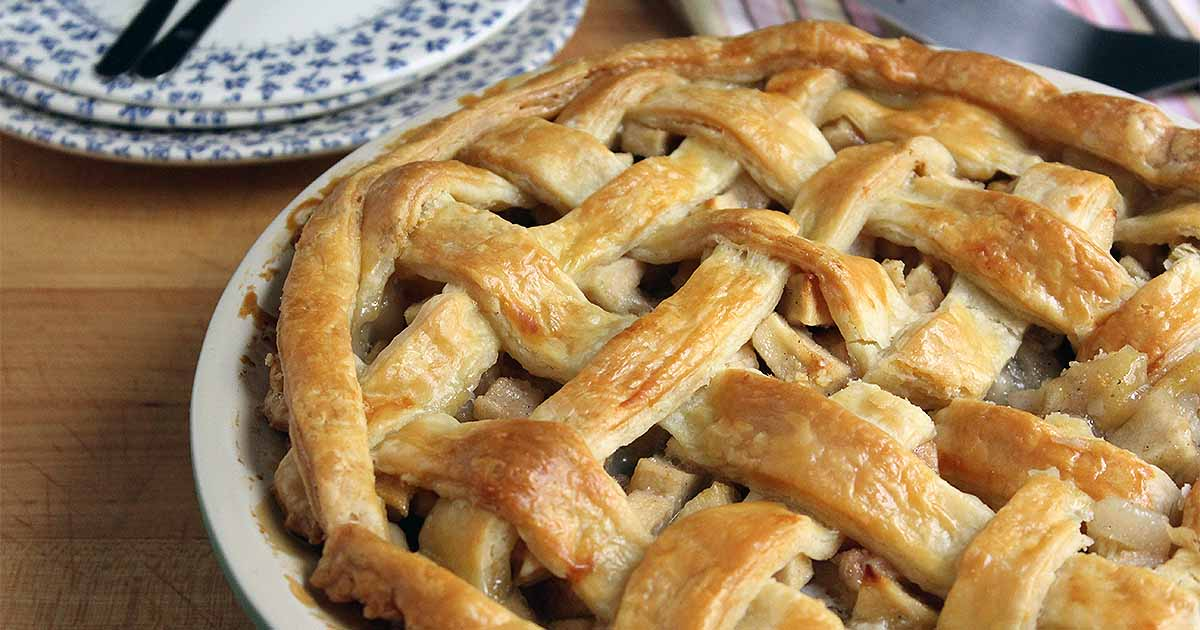 Apple Pear Pie with Cardamom and Ginger   Foodal
