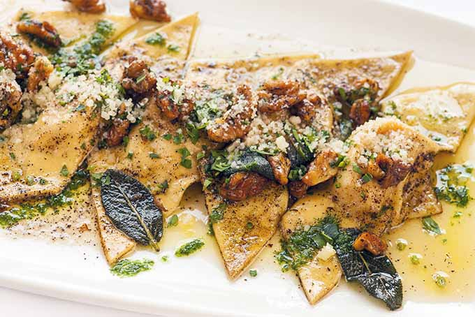 Ravioli with Brown Butter and Sage | Foodal.com