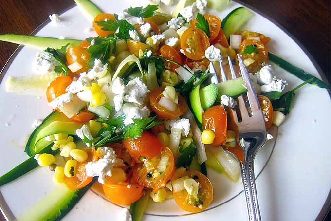 Sunshine Salad and More Quick and Healthy Lunch Ideas