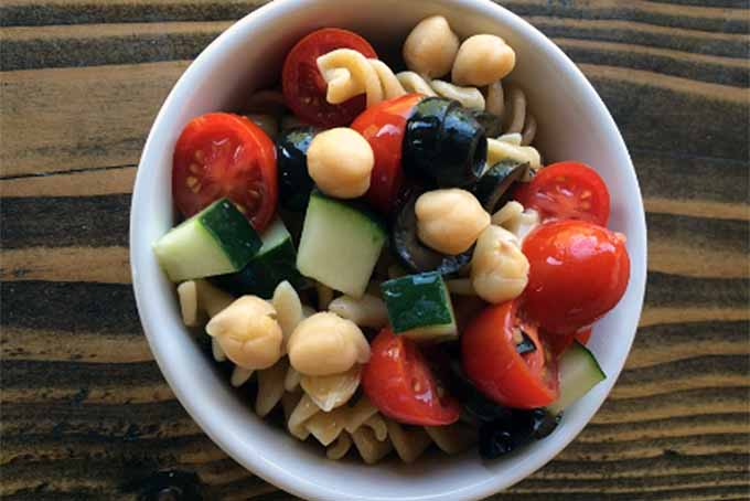 Trifecta of Fullness Pasta Salad and More Quick and Healthy Lunch Ideas