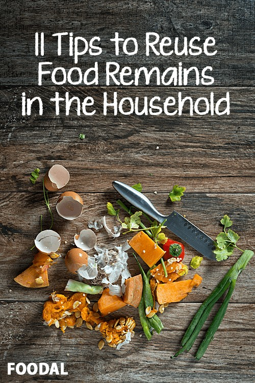 Want to know how to repurpose and make the most of your kitchen's waste stream? Look no further! Foodal has 11 genius and amazingly simple tips to adopt for an efficient, clean kitchen: https://foodal.com/knowledge/how-to/reuse-food-remains/