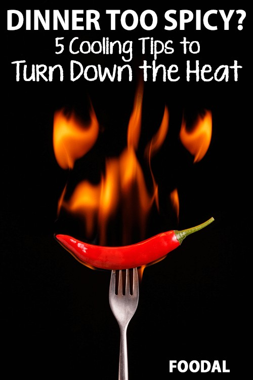 A dish with too much spice can take on blazing intensity, making it unpalatable for all but the most hard-core of heat seekers. The good news? Even if your dish has become too hot to handle, it can be brought back from the brink of disaster! Check out the five best methods to save your dinner (and your taste buds) here: https://foodal.com/knowledge/herbs-spices/turn-down-the-heat/