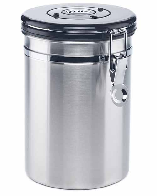 A 12-ounce container is also available in the plain stainless silver color. It measures 5.5 x 8.2 inches and weighs one pound.  sc 1 st  Foodal & The Best Tea Storage Containers Reviewed | Foodal
