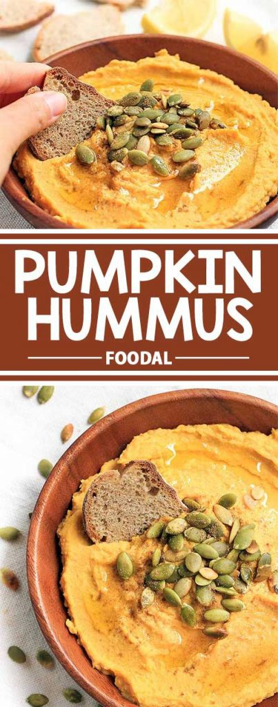 If you love pumpkin and hummus, then you'll definitely love this refreshing twist on the traditional dip. This deliciously creamy dip makes the perfect fall appetizer and is sure to be a big hit! Your family and friends will love it – if you save any for them. Get the recipe from Foodal now, and make a big bowl of hummus today!