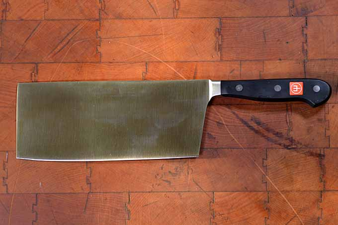 Wusthof Chinese Vegetable Cleaver