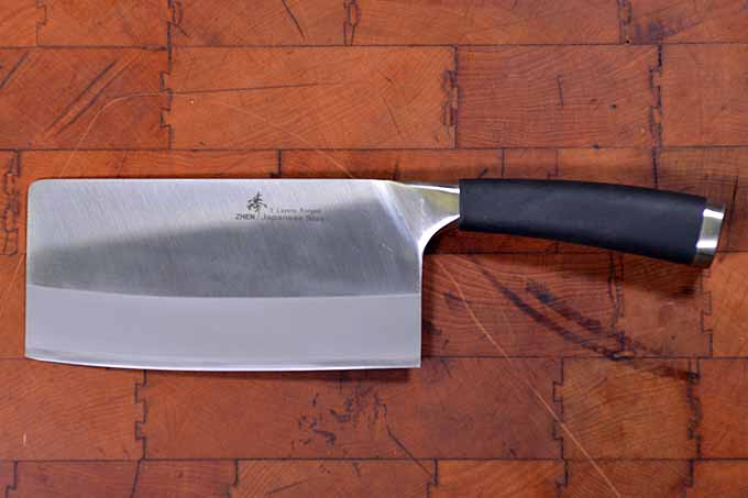 zhen chinese vegetable cleaver