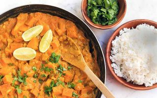 Asian-Style Pumpkin Curry