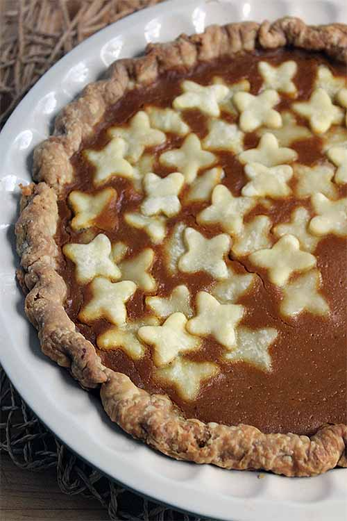 This pumpkin pie is a flavor sensation that's sure you impress your guests this holiday season. A little fresh sage and brown butter makes all difference. Get the recipe: https://foodal.com/recipes/desserts/pumpkin-sage-pie/