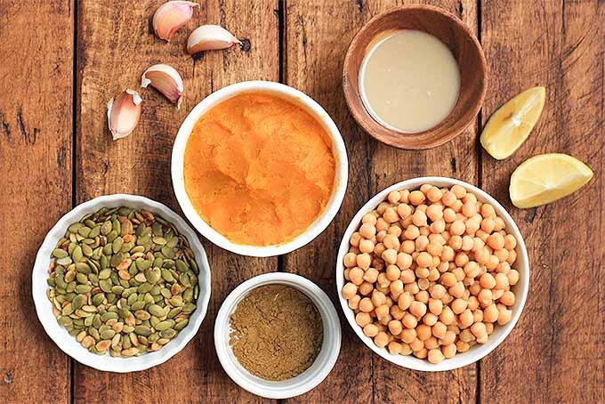 Pumpkin Hummus Mise en Place | Foodal.com