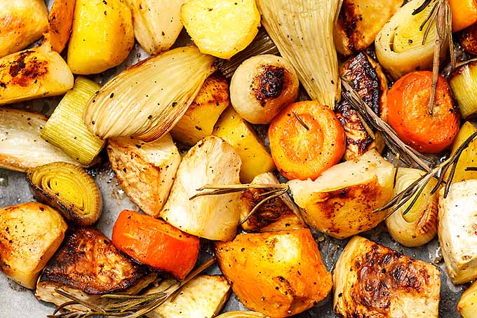 Roasted Root Crops | Foodal.com