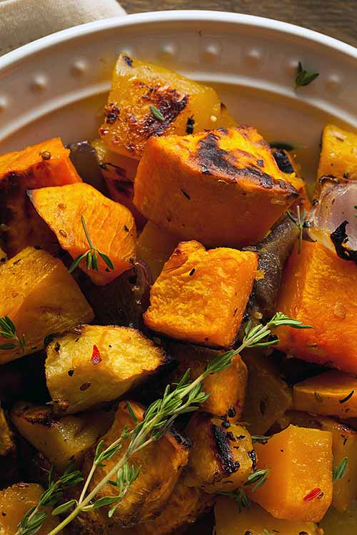 How can you make those fall root crops more interesting to eat - like turnips, rutabagas, and parsnips? The best way is to roast them, with plenty of herbs and spices! Learn to enjoy these fall delights just as much as grandma and grandpa do, right here at Foodal: http://foodal.com/knowledge/paleo/roasted-root-veggies/