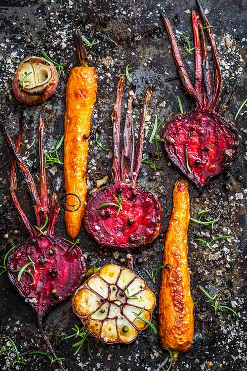 Have you always struggled with eating yams, rutabagas, and those purple top turnips? If so, try roasting them up! They make for a tasty, healthy, roasty-toasty side dish that's perfect for fall - but can be enjoyed anytime of year: http://foodal.com/knowledge/paleo/roasted-root-veggies/