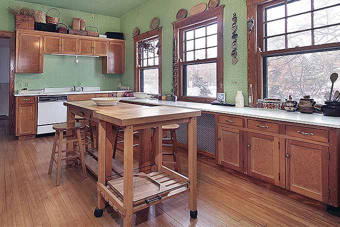 Portable Wood Kitchen Island | Foodal.com