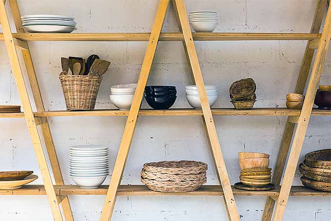 Wooden Kitchen Shelf for Extra Storage | Foodal.com