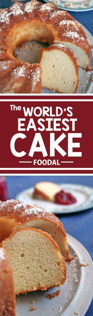 A cake with only two ingredients? It's possible with this easy-peasy recipe! Read on to find out what you need to make this indulgent treat, with a nutty flavor and a soft and moist texture. Baking has never been easier. Try Foodal's recipe today! https://foodal.com/recipes/desserts/worlds-easiest-cake/