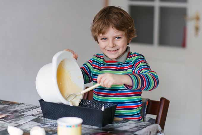 Boy Mixing Batter   Foodal.com