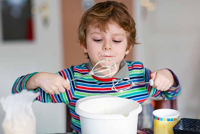 Boy Tasting Batter   Foodal.com