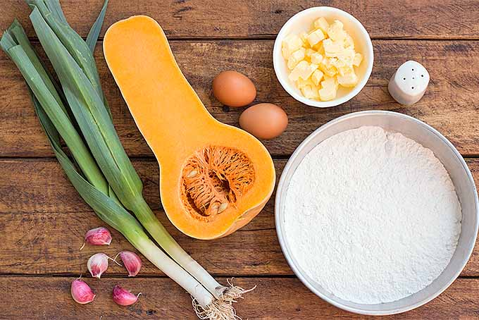 Butternut Squash Galette Ingredients | Foodal.com