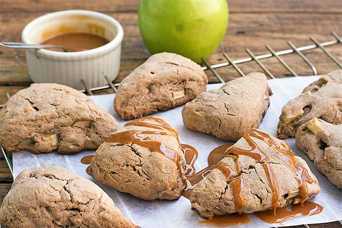 Caramel Apple Scones with Granny Smith Apple | Foodal.com