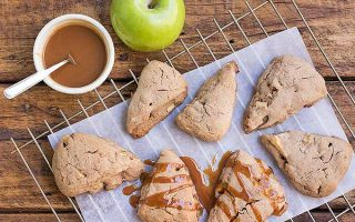 Caramel Apple Scones for Breakfast… or Any Time!