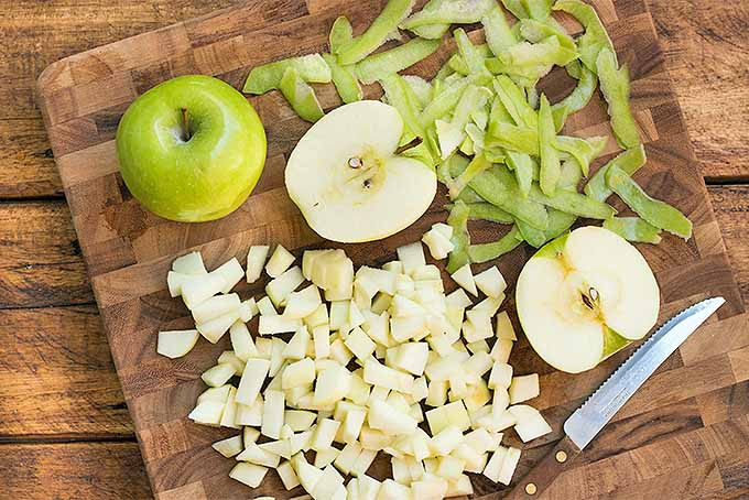 Prepping Apples to Make Scones | Foodal.com