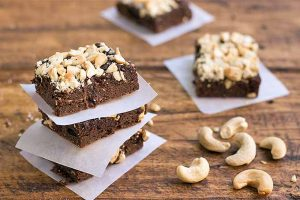 The Best Homemade Gluten-Free Cashew Brownies