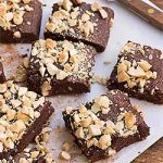 Gluten-Free Chocolate Cashew Brownie Recipe | Foodal.com