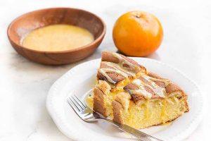 Gluten-Free Lactose-Free Mandarin Orange Sponge Cake
