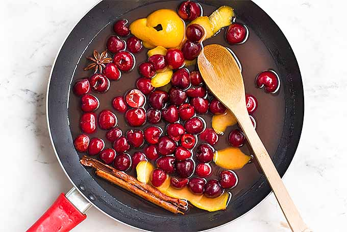 Cooking Cherries in a Pan | Foodal.com
