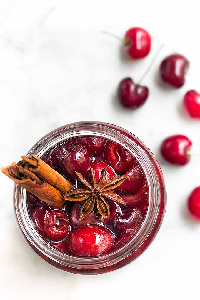 Have you ever made maraschino cherries at home? Once you've tried this recipe, it's sure to become a go-to for desserts and cocktails. Plus, it's dye-free! Get the recipe now: https://foodal.com/recipes/desserts/homemade-maraschino-cherries/