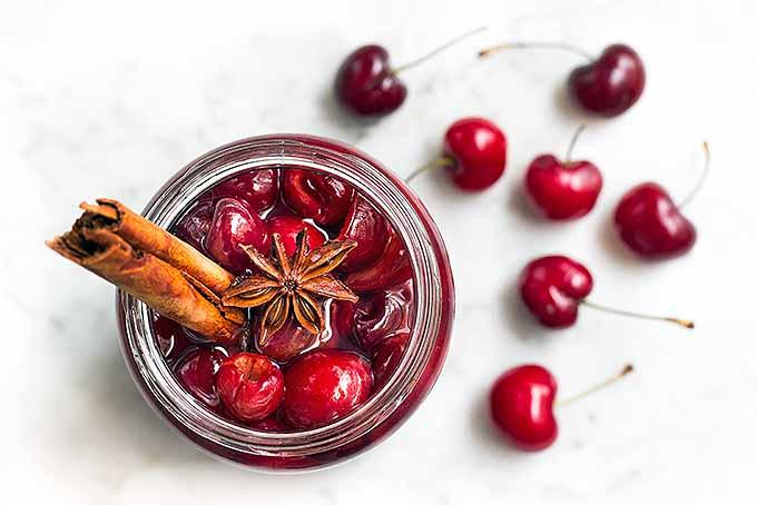 Maraschino Cherries with Cinnamon and Star Anise   Foodal.com