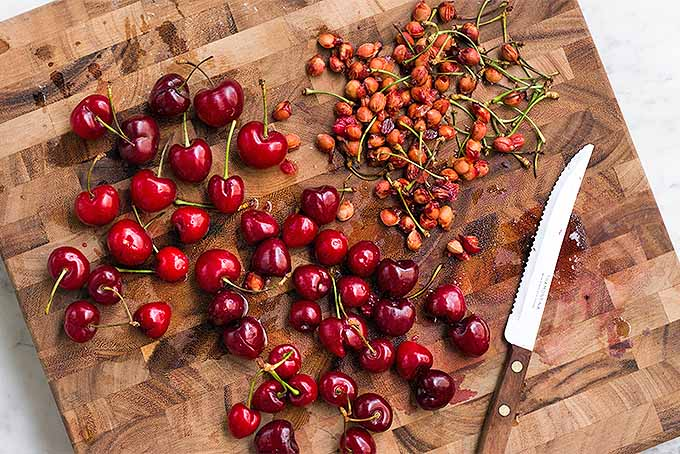 Pitting Fresh Cherries | Foodal.com