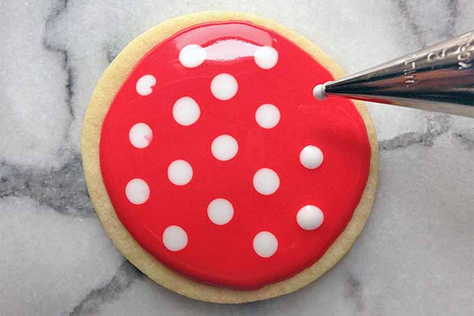 Polka Dot Royal Icing Technique | Foodal.com