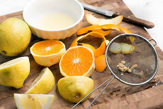 Prepping Citrus to Make Homemade Maraschino Cherries   Foodal.com