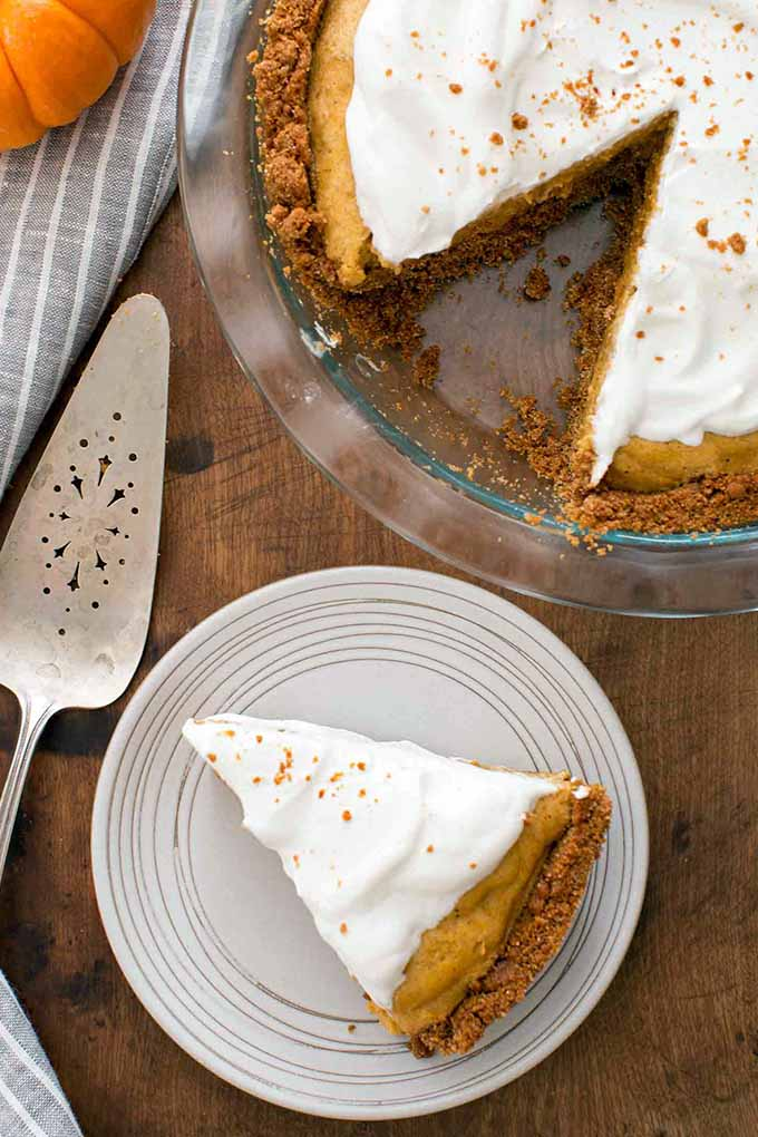 We've rounded up the best of the best for this list of our favorite holiday pies, like this Pumpkin Chiffon from Simply Recipes. Read more: https://foodal.com/recipes/desserts/holiday-pies-roundup/