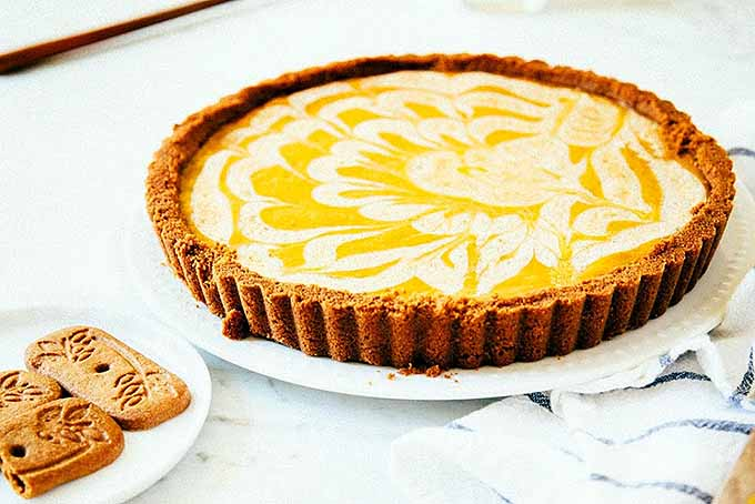 Creme Fraiche Pumpkin Pie