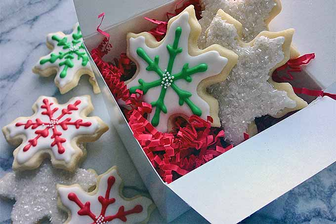 Snowflake-Shaped Sugar Cookies | Foodal.com