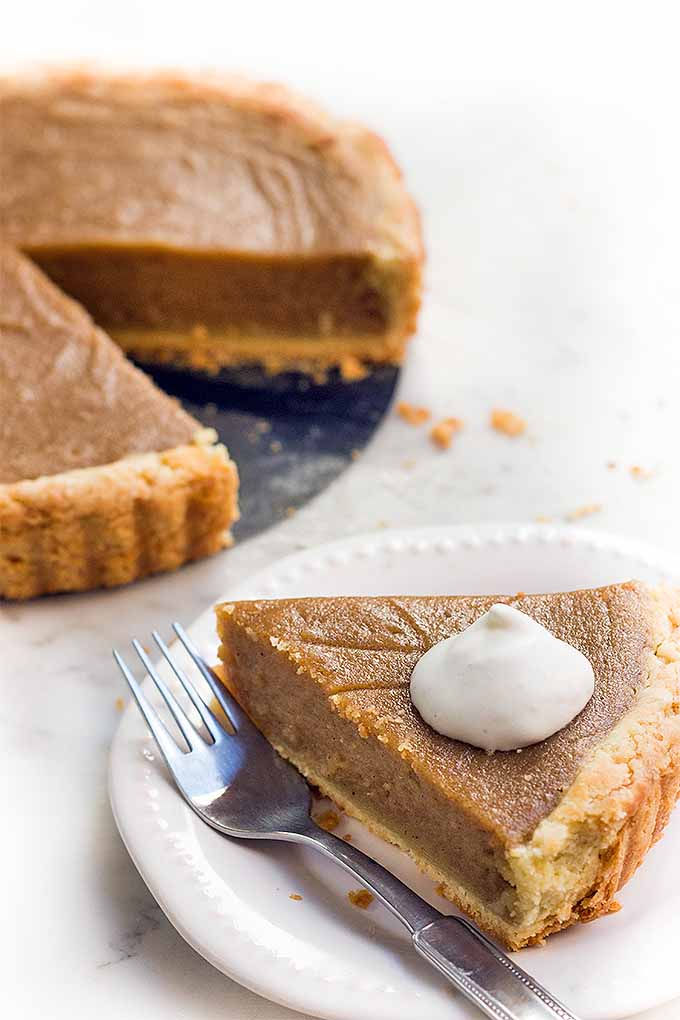 Step aside, pumpkin- it's time for sweet potato pie! We share the recipe for this delicious dessert: https://foodal.com/recipes/desserts/sweet-potato-pie/