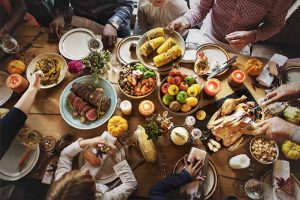 Thanksgiving Foods Then and Now