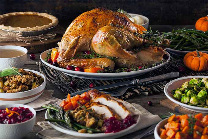 Thanksgiving Turkey and All the Trimmings | Foodal.com