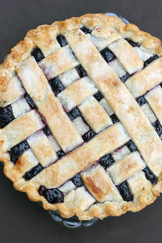 What's better than one pie? 23 different pies! Check out our favorites, like this Triple Berry Pie from Tastes Better from Scratch: https://foodal.com/recipes/desserts/holiday-pies-roundup/
