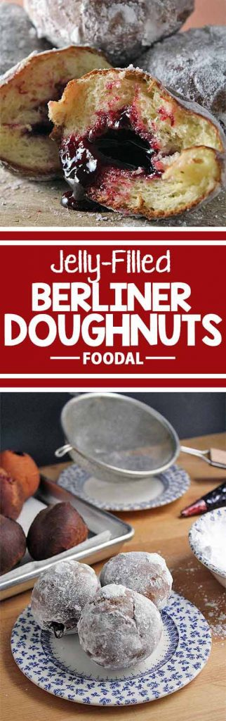 You can't go wrong with these tasty jelly-filled doughnuts, and the filling options are endless. Got fresh fruit jam or tasty preserves? Give the Berliner a try today – get the recipe now on Foodal.