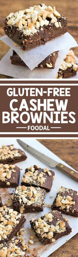 Do you love chocolate and need something to satisfy your sweet tooth? These gluten-free brownies are moist, chocolatey, and topped with crunchy cashews for contrast in color and texture. Best of all, a batch can be made in just 35 minutes! Get the recipe on Foodal now and make a batch of these brownies today!