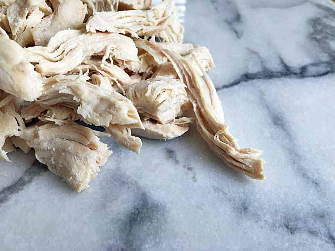 Gnocchi Chicken Soup Recipe Step 1a – Prepare the Chicken and Veggies