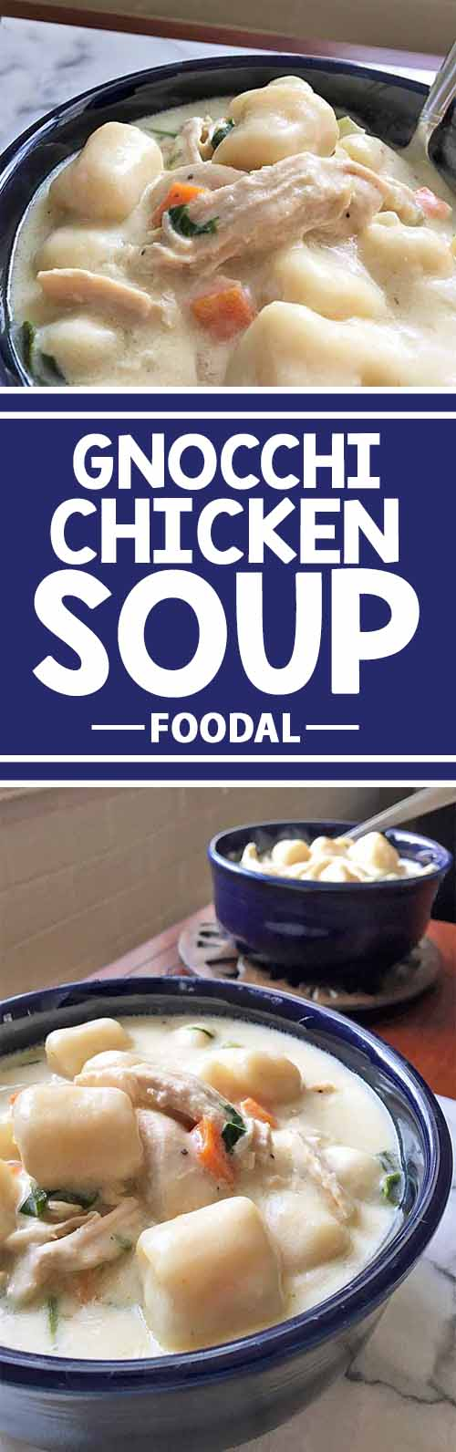 thick and creamy italian gnocchi chicken soup recipe foodal