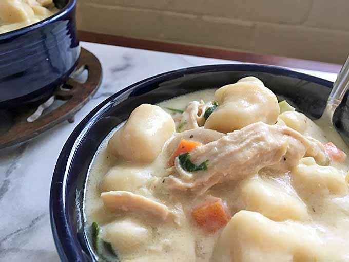 The World's Best Italian Gnocchi Chicken Soup